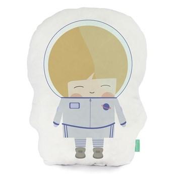 Poduszka z czystej bawełny Happynois Astronaut, 40x30 cm