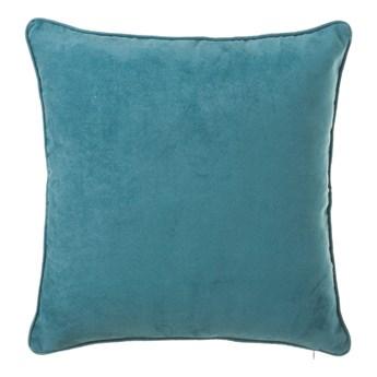 Niebieska poduszka Unimasa Loving, 45x45 cm
