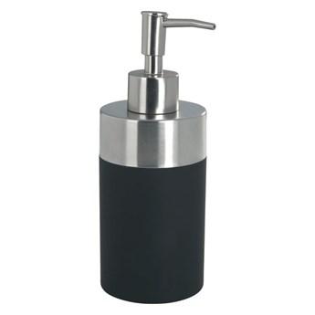 Czarny dozownik do mydła Wenko Creta