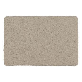 Szarobeżowy dywanik odpowiedni do domu i na zewnątrz Wenko Mona, 80x50 cm