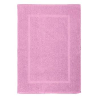 Fiołkowy bawełniany dywanik łazienkowy Wenko Lilac, 50x70 cm