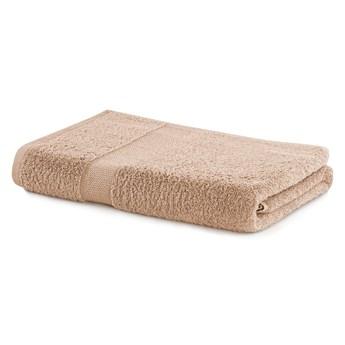 Beżowy ręcznik kąpielowy DecoKing Marina, 70x140 cm