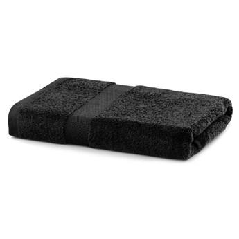 Czarny ręcznik kąpielowy DecoKing Marina, 70x140 cm
