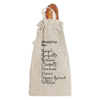 Worek na chleb z domieszką lnu Linen Couture Bag Shopping, wys. 42 cm