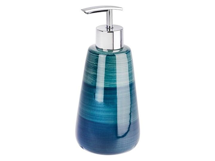 Turkusowy dozownik do mydła Wenko Pottery