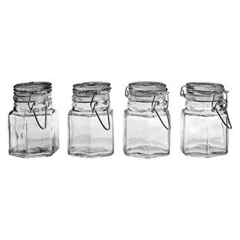 Zestaw 4 szklanych słoiczków na przyprawy Premier Housewares