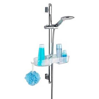 Półka łazienkowa na słuchawkę prysznicową Wenko Premium