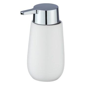 Biały ceramiczny dozownik do mydła Wenko Badi