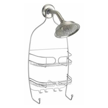 Wisząca półka pod prysznic w kolorze srebra iDesign Neo