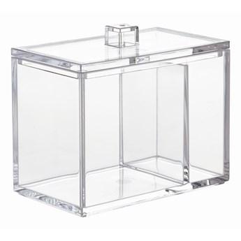 Przezroczysty pojemnik iDesign, 7,6x12,7 cm