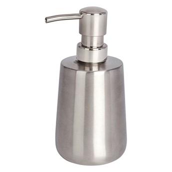Stalowy dozownik do mydła w srebrnej barwie Wenko Solid