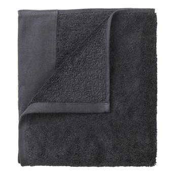 Zestaw 4 ciemnoszarych ręczników Blomus, 30x30 cm
