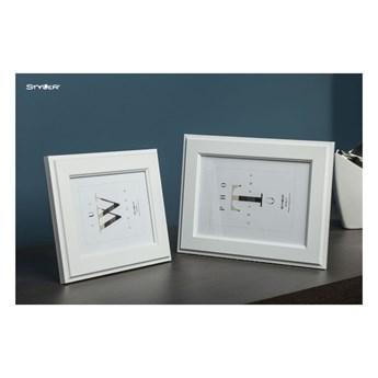 Biała ramka na zdjęcia Styler Malmo, 47x57 cm
