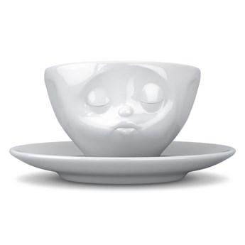 Biała porcelanowa całuśna filiżanka 58products, 200 ml