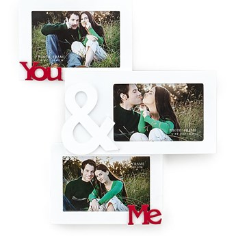 Drewniana ramka ścienna na zdjęcia Tomasucci You And Me, na fotografie o wym. 10x15 cm