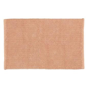 Brązowy dywanik łazienkowy Wenko Mona, 80x50 cm