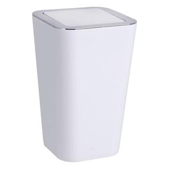 Biały kosz na śmieci Wenko Candy