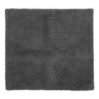 Szary bawełniany dywanik łazienkowy Tiseco Home Studio Luca, 60x60 cm