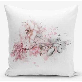 Poszewka na poduszkę z domieszką bawełny Minimalist Cushion Covers Ogea Flower Leaf, 45x45 cm