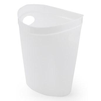 Biały kosz na papier Addis Flexi, 27x26x34 cm
