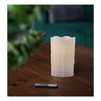 Zestaw 3 świeczek LED z pilotem DecoKing Drip, wys. 12,5 cm