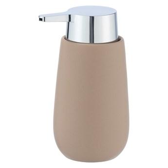 Piaskowy ceramiczny dozownik do mydła Wenko Badi, 320 ml