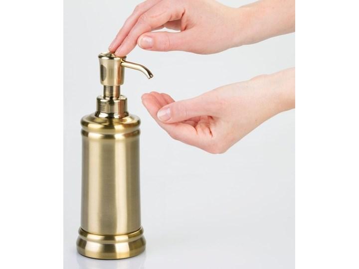 Nierdzewny dozownik do mydła w kolorze złota iDesign Sutton Dozowniki Kolor Złoty