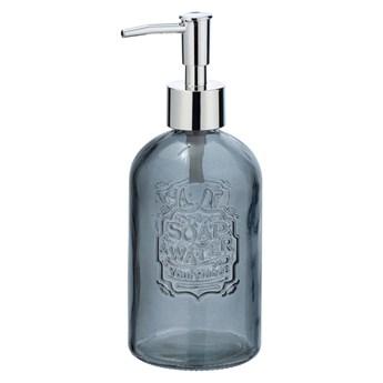 Szary szklany dozownik do mydła Wenko Vetro, 520 ml