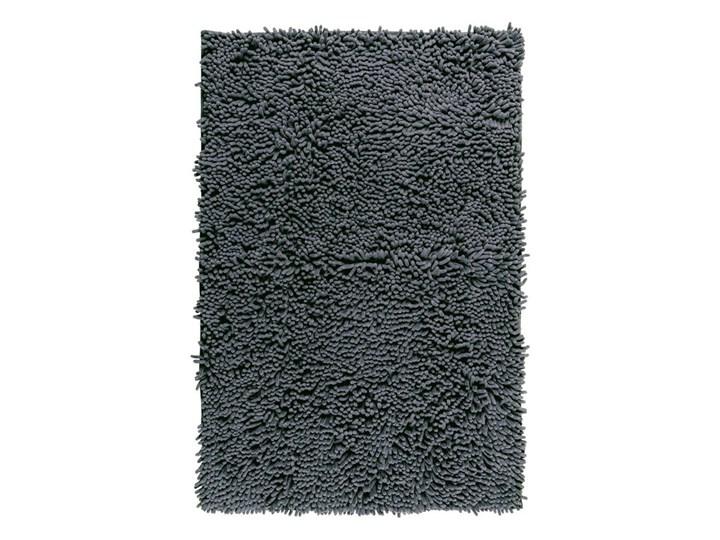 Grafitowy dywanik łazienkowy Wenko Chenille, 80x50 cm