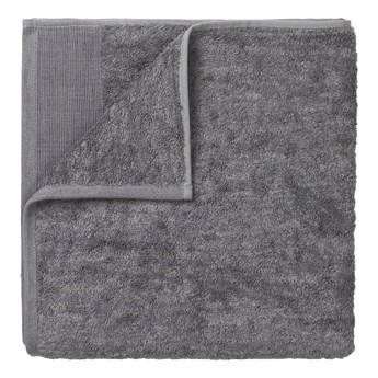 Ciemnoszary bawełniany ręcznik Blomus, 100x50 cm