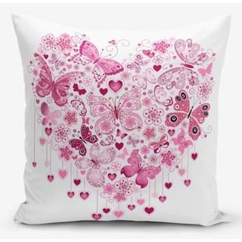 Poszewka na poduszkę z domieszką bawełny Minimalist Cushion Covers Hearty, 45x45 cm