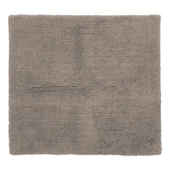 Brązowy bawełniany dywanik łazienkowy Tiseco Home Studio Luca, 60x60 cm