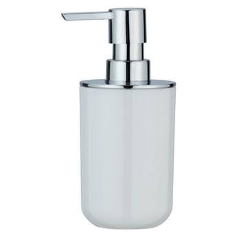 Biały dozownik do mydła Wenko Posa, 330 ml
