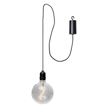 Przezroczysta ogrodowa dekoracja świetlna LED Star Trading Glassball, dł. 1 m