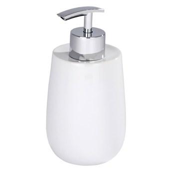 Biały ceramiczny dozownik do mydła Wenko Malta
