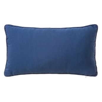 Niebieska poduszka Unimasa Love, 30x50 cm
