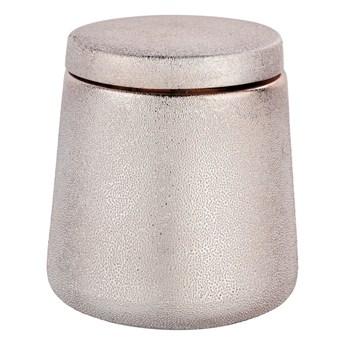 Różowy pojemnik ceramiczny Wenko Glimma