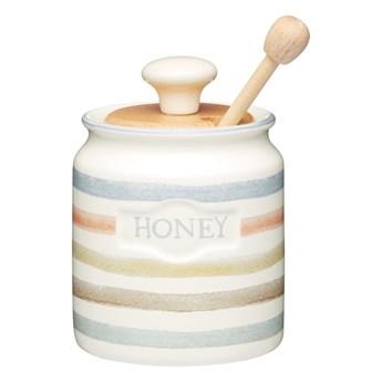 Zestaw ceramicznego pojemnika i łyżki do miodu Kitchen Craft Classic Collection