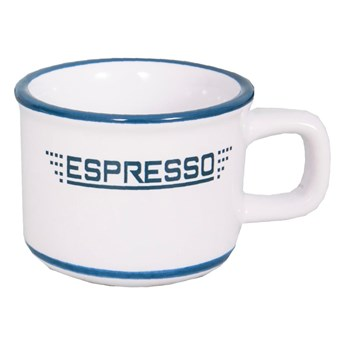 Biała filiżanka do espresso Antic Line Tasse