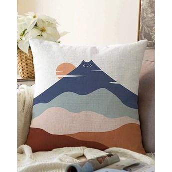 Poszewka na poduszkę z domieszką bawełny Minimalist Cushion Covers Kitty Hill, 55x55 cm