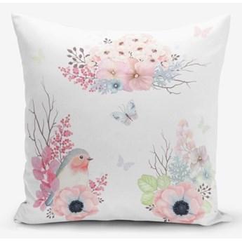 Poszewka na poduszkę z domieszką bawełny Minimalist Cushion Covers Special Design Bird Modern, 45x45 cm