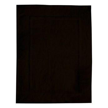 Czarny bawełniany dywanik łazienkowy Wenko, 50x70 cm