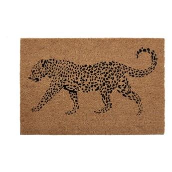 Wycieraczka z naturalnego włókna kokosowego Premier Housewares Leopard, 40x60 cm
