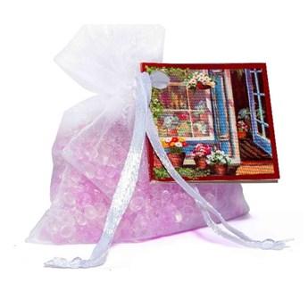 Woreczek z organzy o zapachu kwiatów Ego Dekor Organza Flower Shop