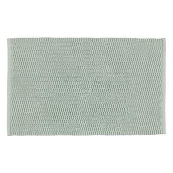 Jasnozielony dywanik łazienkowy Wenko Mona, 80x50 cm