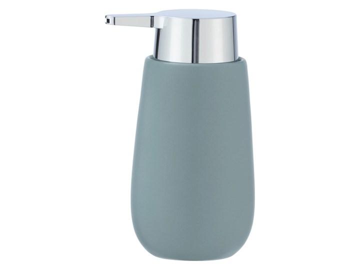 Szaroniebieski ceramiczny dozownik do mydła Wenko Badi, 320 ml Ceramika Dozowniki Kategoria Mydelniczki i dozowniki