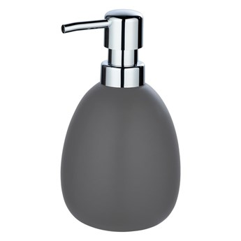 Szary ceramiczny dozownik do mydła Wenko Polaris