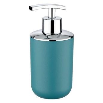 Ciemnoturkusowy dozownik do mydła Wenko Brasil Petrol