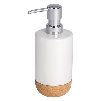 Biały dozownik do mydła Wenko Corc