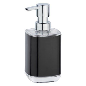 Czarny dozownik do mydła Wenko Masone